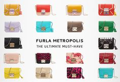 Discover the Furla collections: bags, wallets and accessories. Visit the online store and benefit from exclusive offers and free returns.