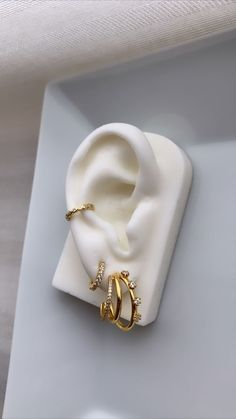 Ear Cuffs, Fake Piercing, First They Came, Music Notes, Napkin Rings, Boho, Bracelets, Winter, Small Earrings