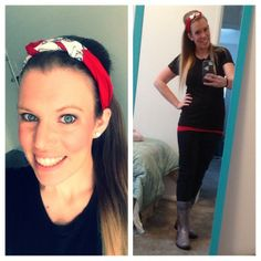"The best #OOTD definitely goes to Miss Alysson!!! :) LOVE IT!!!! She had this to say, "" In love with my headband from @hustlemamahandmade!!!! Also #bootsbytwoality come in handy with all the snow on the ground!!! #hustlemama #supporthandmade #twoality #love"" We love seeing happy #TwoAlity customers!"
