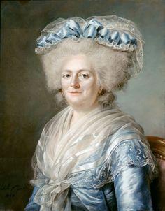 Adélaïde Labille-Guiard  (1749-1803)   —  Victoire Louise Marie Thérèse de France, Madame Victoire, 1787  (1621x2078)