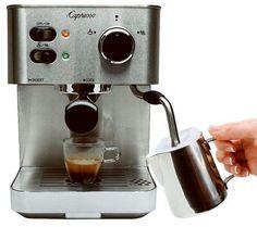 Capresso EC PRO Professional Espresso & Cappuccino Machine — QVC.com