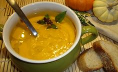 Thai Red Curry Butternut Squash Soup.