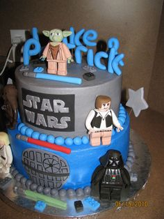 lego star wars cake — Children's Birthday Cakes