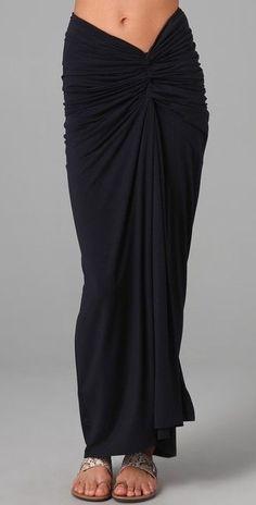 Gryphon Twist Maxi Skirt