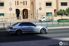 Mercedes-Benz E63 AMG S W 212 Silver