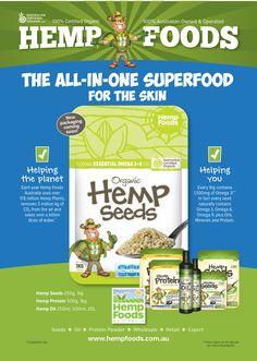 Hemp Foods - new packaging coming soon!
