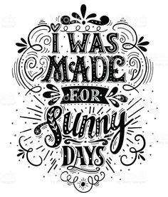 Design: Julia_Henze. J'ai été conçue pour les jours ensoleillés