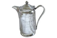One Kings Lane - London Calling Silverplate Hotel Ware Coffee Pot $375 Retail $245 Our Price