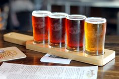 Sampling Sutter Buttes Brewing Company at their recently reopened brewpub in Yuba City, California.