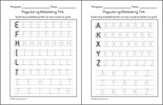 Posts about alpabetong Filipino worksheets written by samutsamot_mom Tagalog, Preschool Worksheets, Filipino, About Me Blog, Notes, Classroom, Writing, Education, Reading