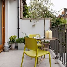 Bright small balcony