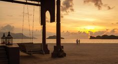 #IgniteTheSpark with a sunset swing for two @Four Seasons Resort Langkawi, Malaysia