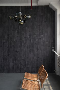 $200 per roll, flavorpaper.com  Thinking of going over to the dark side? Avoid painter's remorse with this easily removable wallpaper, designed in the style of Japanese charred-wood siding. You can always start small with an accent wall, and if the look sticks, extend it to the rest of the room. More: 11 Wallpapers That Are Totally Temporary  - BestProducts.com