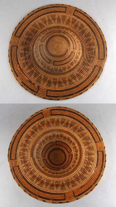 Africa | Woven raffia hat from Sierra Leone