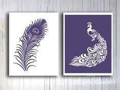 Image result for feather wall art