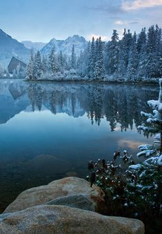 Strbske Pleso, Tatra moutnains, Slovakia (by Tatra Photography) Bratislava, Places Around The World, Around The Worlds, Beautiful World, Beautiful Places, Montenegro, Tatra Mountains, Poland Travel, Voyage Europe