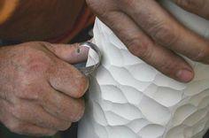 Ceramic handcraft byMichael Sherrill - so geht also der Faustkeil :)