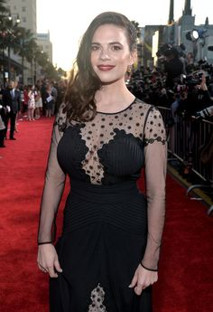 Hayley Atwell Photos - Actress Hayley Atwell attends Marvel's 'Captain America: The Winter Soldier' premiere at the El Capitan Theatre on March 13, 2014 in Hollywood, California. - 'Captain America: The Winter Soldier' Premiere — Part 2