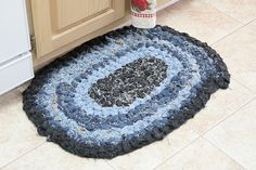 recycled jeans rug