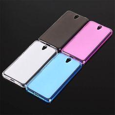 For fundas Lenovo Vibe S1 cover case Matte TPU Soft Phone Case for lenovo vibe S1C50 Case Silicon Back Cover Case #Affiliate