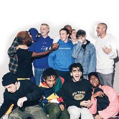 "Meet Brockhampton, Hip-Hop's Hottest New ""Boy Band"" - Willamette Week All American Trash, Boy Bands, American Boyfriend, Kevin Abstract, Bae, Music Icon, Music Stuff, Music Is Life, Boy Fashion"