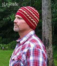 A FREE Crochet Beanie hat by ELK Studio