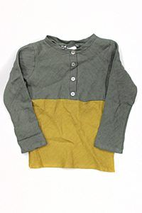 Minimu Mustard Color Block Tun