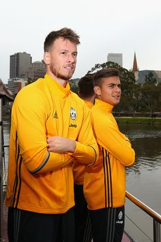 Neto poses during a Juventus boat ride along the Yarra River on July 19, 2016 in Melbourne, Australia.