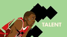 Michael Jordan Motion Graphics Art