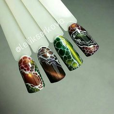 let's take a look at the 80 Awesome Acrylic Almond Nails Designs we have collected for you. They are very useful for almond nails. Acrylic Nail Art, Gel Nail Art, Acrylic Nail Designs, Nail Art Designs, Snake Skin Nails, Cat Eye Nails, Dragon Nails, Art Deco Nails, Nail Art Wheel