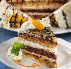 Velencei álom torta – Receptletöltés Hungarian Desserts, Hungarian Recipes, Tart Recipes, Cooking Recipes, Rainbow Food, Special Recipes, Cake Cookies, Cake Decorating, Food Porn