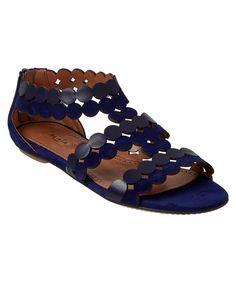 ALAIA | Alaia Lazer Cut Leather & Suede Sandal #Shoes #Sandals #ALAIA