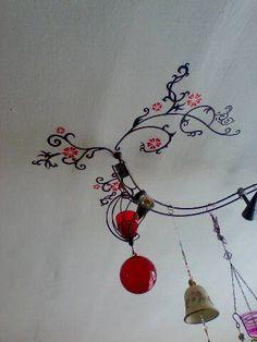 Ciling wall art