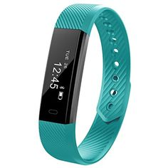REDGO Fitness Tracker Smart Bracelet Sleep Monitors Pedometer Calorie Tracking Wristband for iPhone and Android Phones, Mint Green * Check out the image by visiting the link. (This is an affiliate link) #Accessories