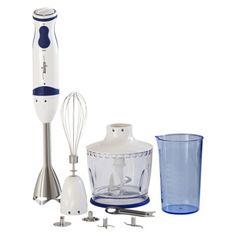 Miallegro® 550 Watts MiTutto® 9090 Immersion Hand Blender - Blue/White