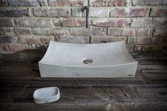 Výrobky z betonu na míru   CRÉER Toilet, Accent Chairs, Sink, Bathroom, Furniture, Design, Home Decor, Upholstered Chairs, Sink Tops