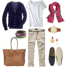 Very cute) Can be worn in Spring, Summer, Fall, and for us in the South, even Winter:) Love the versatility of all of it!