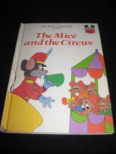 DISNEY'S WONDERFUL WORLD OF READING THE MICE AND THE CIRCUS (1979)
