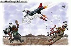 Turkey airforce is Isis airforce as they bomb only the enemies of ISIS and not ISIS