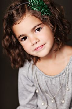 oh wow. this is my child in the future. she is going to look almost like this, woah.