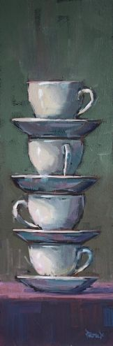 4 cups by Cathleen Rehfeld