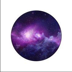 Purple Galaxy Button