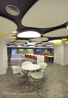 Microsoft Gurgaon Offices India Office Interior DesignOffice