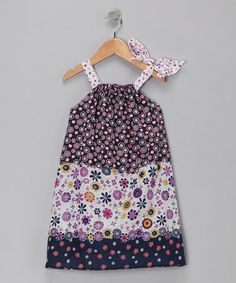 Take a look at this Purple Confetti Dress - Toddler & Girls by Buckleberry Kids on #zulily today!