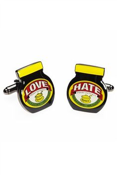 Marmite® Cufflinks - We do!