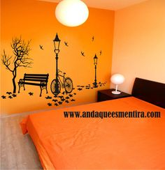 murales decorativos - Buscar con Google Mural Painting, Diy Painting, Simple Wall Paintings, Accent Wall Designs, Deco Originale, Wall Drawing, Room Wallpaper, Diy Wall Art, Room Paint