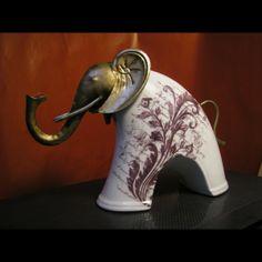 statuette éléphant, savane, statuette, figurine, cadobjet, décoration