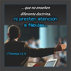 1 Timoteo 1.3, 4 Anexo