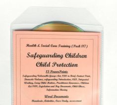 Teaching Resources CD SAFEGUARDING CHILDREN Health Social & Child Care Education