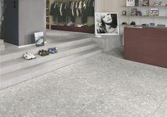 Simple but Stunning - Grey Terrazzo Floor Tiles from Italian Tile and Stone Dublin